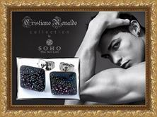 Мужские серьги Cristiano Ronaldo Collection by SOHO. The Art Loft