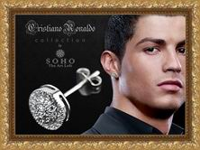 Мужская серьга Cristiano Ronaldo Collection by SOHO. The Art Loft